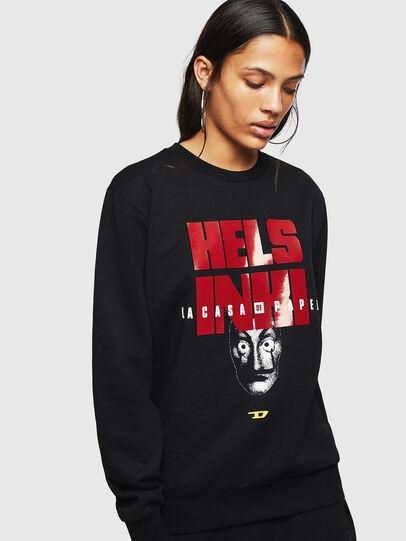 Diesel - LCP-S-GIRK-HELSINKI, Black - Sweaters - Image 2