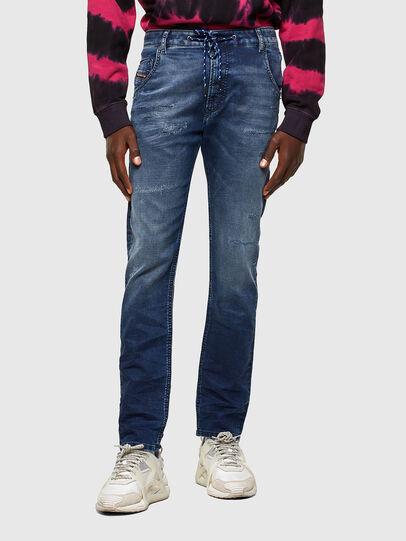 Diesel - KROOLEY JoggJeans® 069SL, Dark Blue - Jeans - Image 1