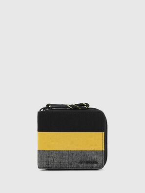 ZIPPY HIRESH S, Black/Yellow - Zip-Round Wallets