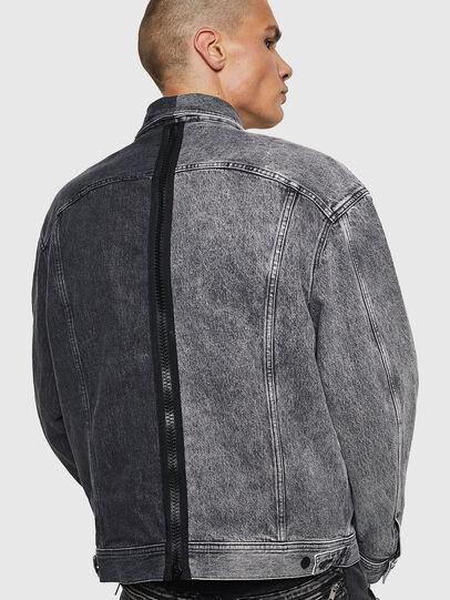 Diesel - D-POLL, Black - Denim Jackets - Image 2