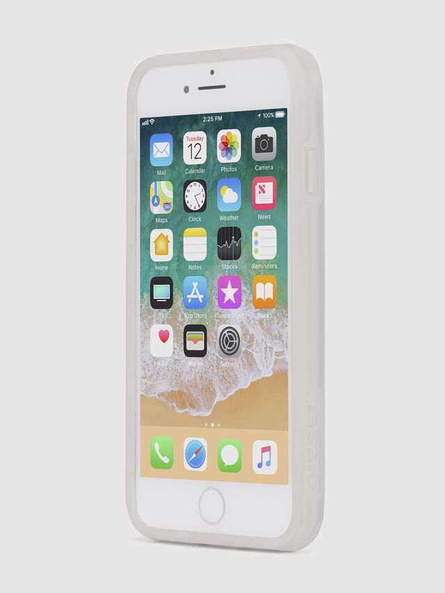 Diesel - BLAH BLAH BLAH IPHONE 8/7/6s/6 CASE, White - Cases - Image 3