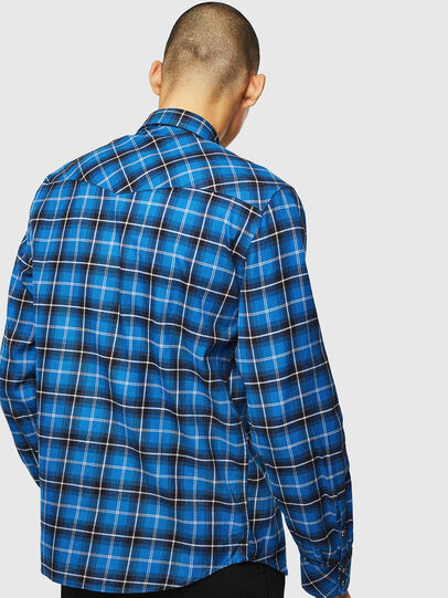 Diesel - S-EAST-LONG-N, Blue - Shirts - Image 2