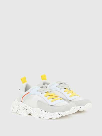 Diesel - S-SERENDIPITY LC CH, White/Yellow - Footwear - Image 2