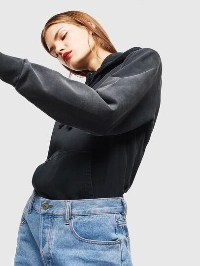 Diesel - S-GIRK-HOOD-SUN, Black - Sweaters - Image 7