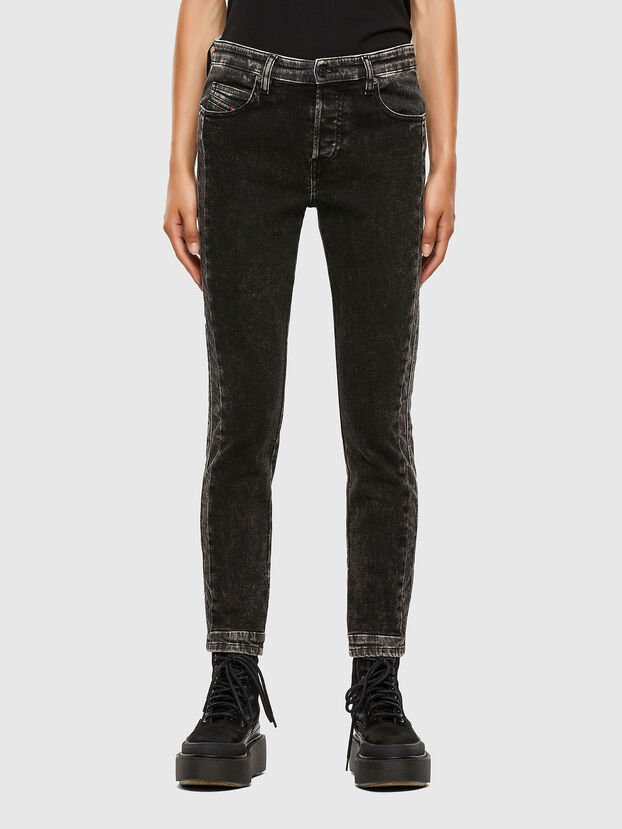 Babhila 009FH, Black/Dark grey - Jeans