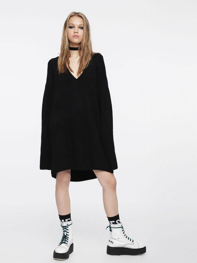 Diesel - M-SOFTY, Black - Dresses - Image 6