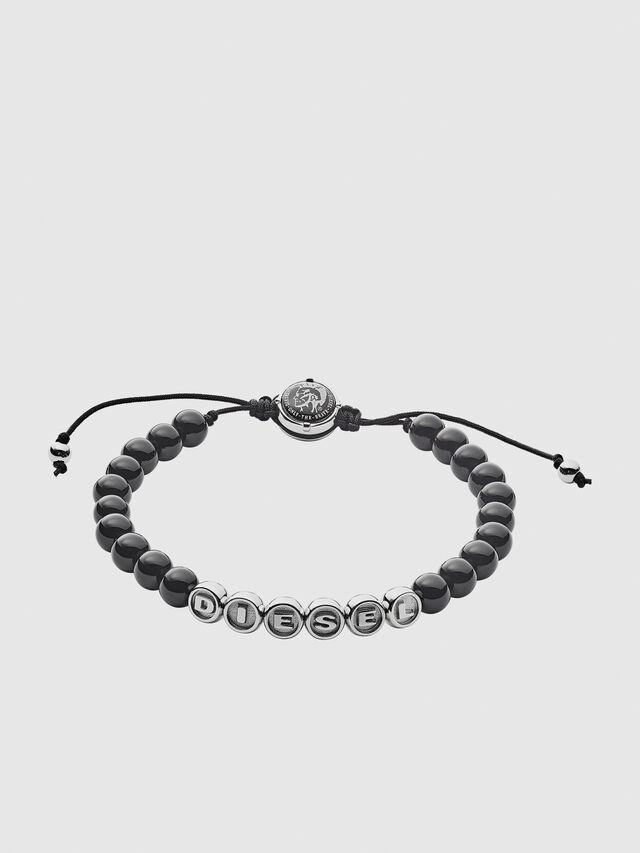 Diesel - BRACELET DX1088, Black - Bracelets - Image 1