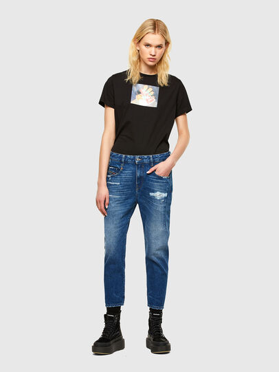Diesel - Fayza 0079R, Medium blue - Jeans - Image 5