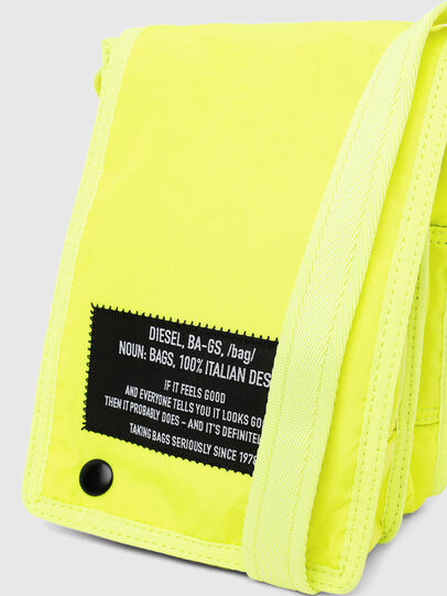 Diesel - ANKO, Yellow Fluo - Crossbody Bags - Image 6