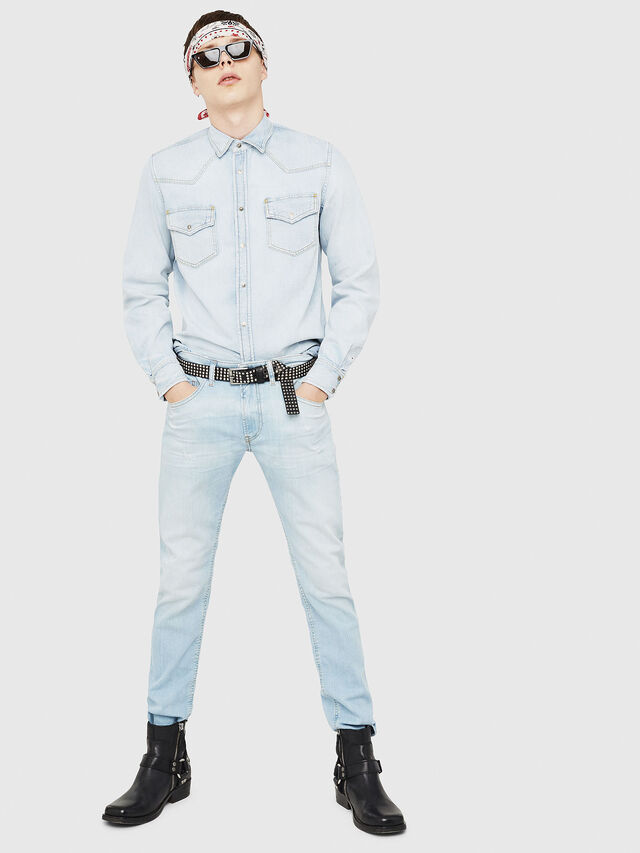 Diesel - D-EAST-P, Blue Jeans - Denim Shirts - Image 5