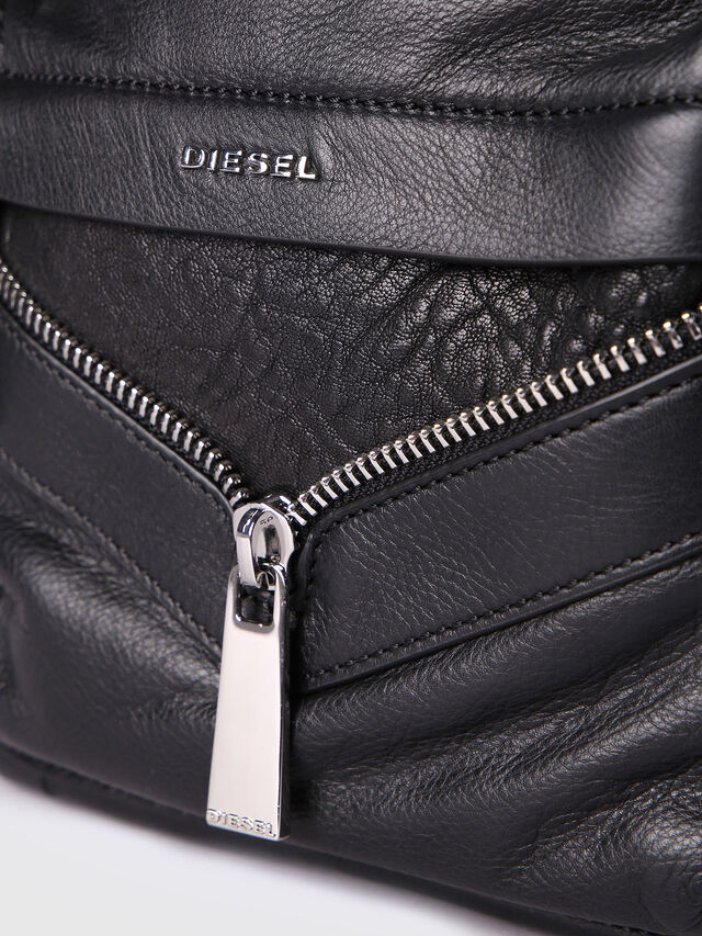 Diesel - LE-ONY, Black - Backpacks - Image 4