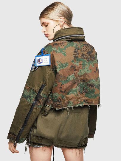 Diesel - G-LEE-C, Military Green - Jackets - Image 2