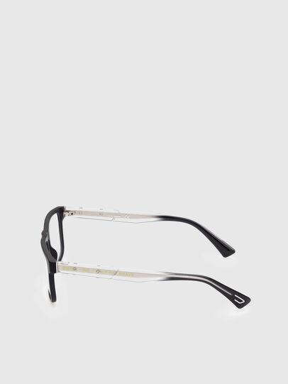 Diesel - DL5406, Black/White - Eyeglasses - Image 3