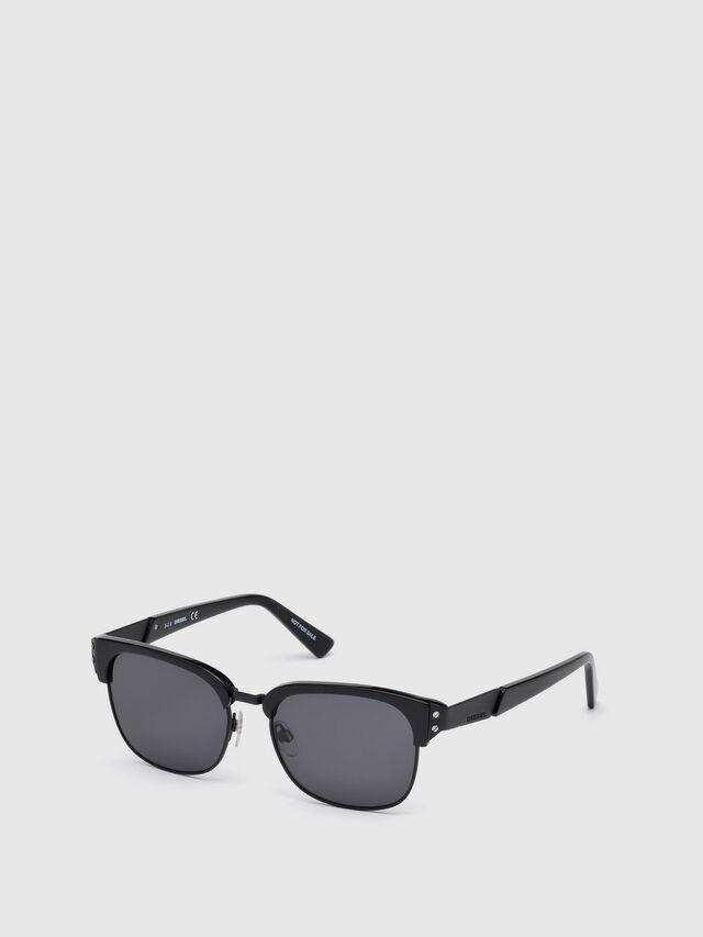 Diesel - DL0235, Black - Eyewear - Image 2