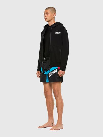 Diesel - BMBX-CAYBAYDOO, Black - Swim shorts - Image 4
