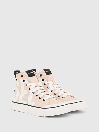Diesel - S-ASTICO MC W, Pink/White - Sneakers - Image 2
