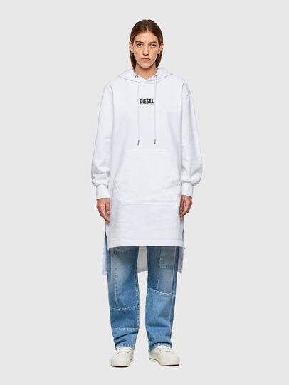 Diesel - D-ILSE-SMALLOGO, White - Dresses - Image 1