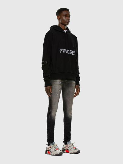 Diesel - D-REEFT JoggJeans® 009FX, Black/Dark grey - Jeans - Image 4