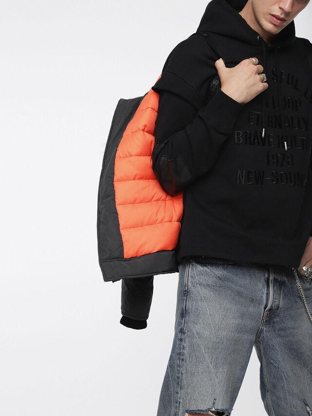 Diesel - W-CODY, Black - Winter Jackets - Image 5