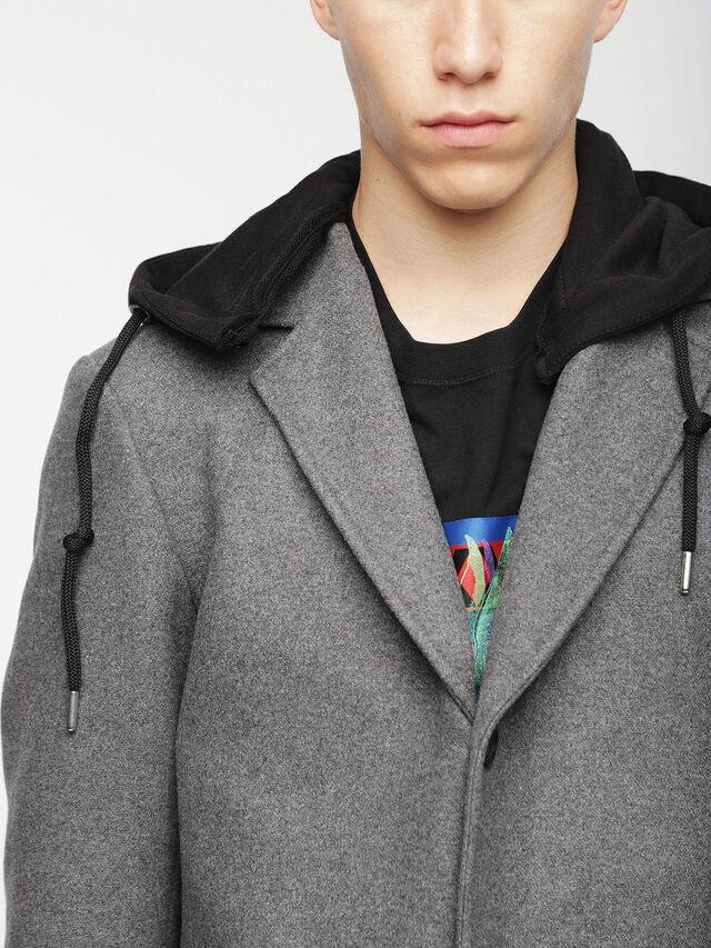Diesel - W-DEXTER, Grey - Winter Jackets - Image 5