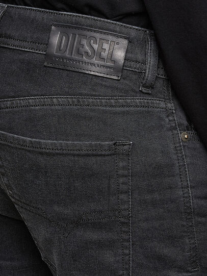 Diesel - Sleenker 009LY, Black/Dark grey - Jeans - Image 4