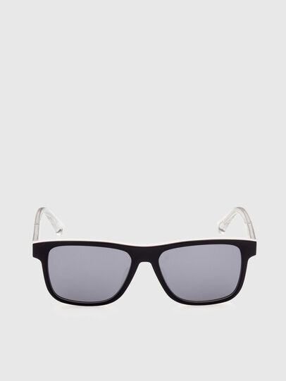 Diesel - DL0279, White/Orange - Sunglasses - Image 1