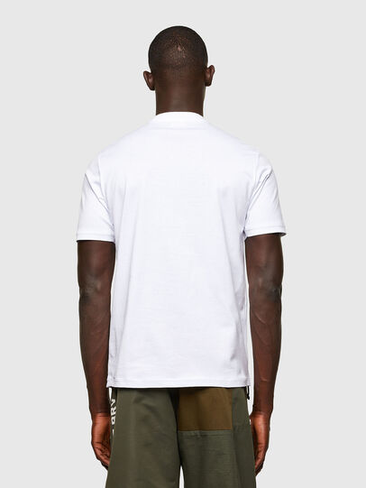 Diesel - T-JUSTY, White - T-Shirts - Image 2