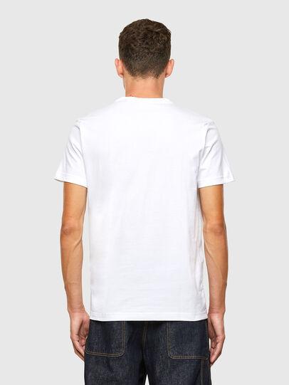 Diesel - T-DIEGOS-X40, White - T-Shirts - Image 2