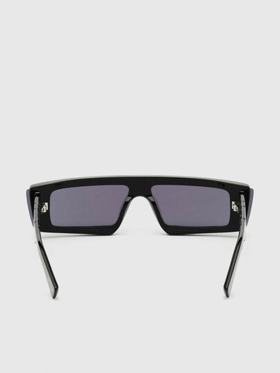 Diesel - DL0318, Black/Blue - Sunglasses - Image 4
