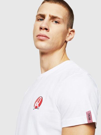 Diesel - LR-T-DIEGO-VIC, White - T-Shirts - Image 3