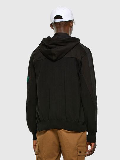 Diesel - K-WORTH, Black - Knitwear - Image 6