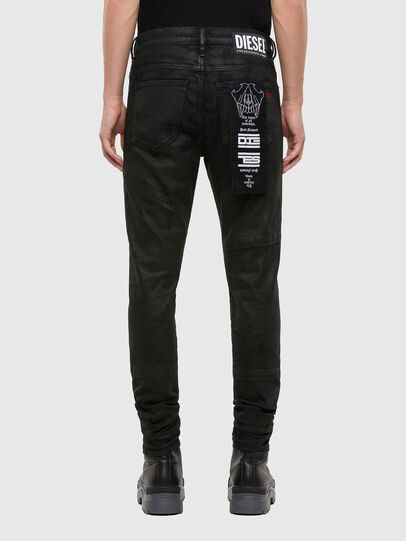 Diesel - D-Istort 069QU, Black/Dark grey - Jeans - Image 2