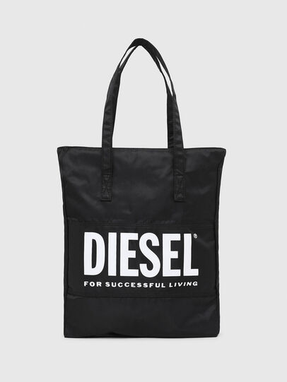 Diesel - BBAG-TOTE, Black - Beachwear accessories - Image 2