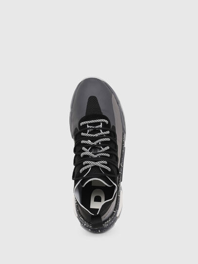 Diesel - S-KIPPER BAND, Gray/Black - Sneakers - Image 4