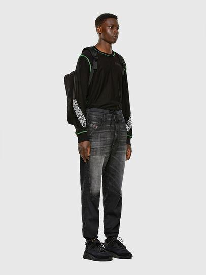 Diesel - D-Skint JoggJeans 069PC, Black/Dark grey - Jeans - Image 6