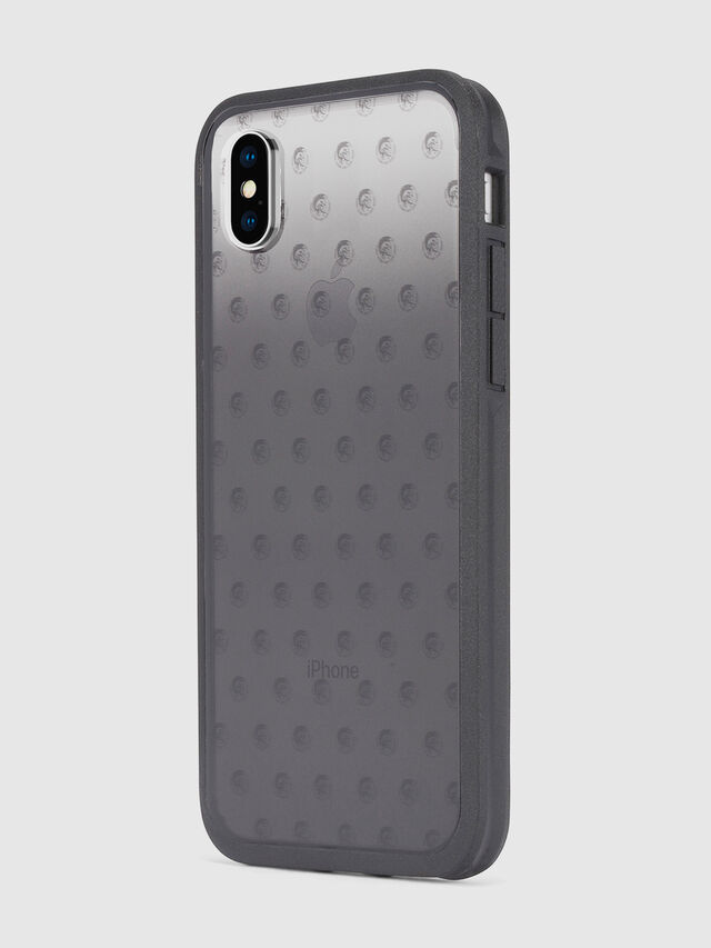 Diesel - MOHICAN HEAD DOTS BLACK IPHONE X CASE, Black/Grey - Cases - Image 6