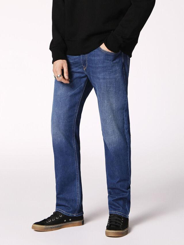 Diesel - Waykee 084RM, Medium blue - Jeans - Image 4