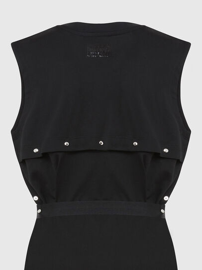 Diesel - D-FAIRY, Black - Dresses - Image 5