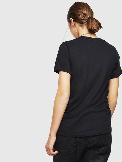 Diesel - T-SILY-ZC, Black - T-Shirts - Image 2