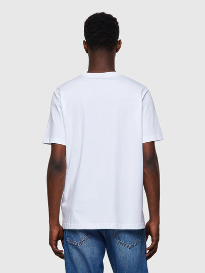 Diesel - T-JUST-A35, White - T-Shirts - Image 2