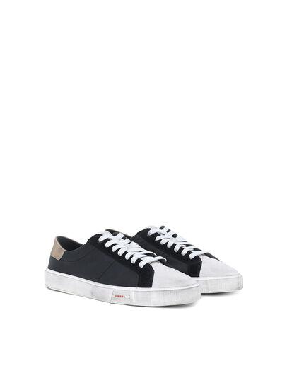 Diesel - S-MYDORI LC, Black/Beige - Sneakers - Image 2