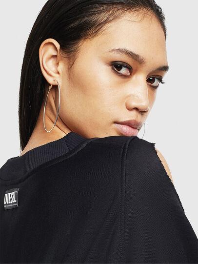Diesel - F-INVERT, Black - Sweaters - Image 3