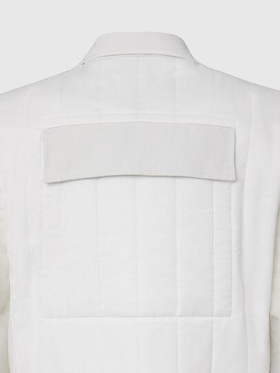 Diesel - J-THULL, White - Jackets - Image 4