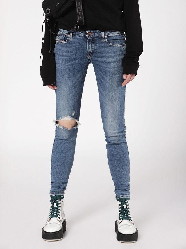 Diesel - Gracey 069AI, Medium blue - Jeans - Image 2
