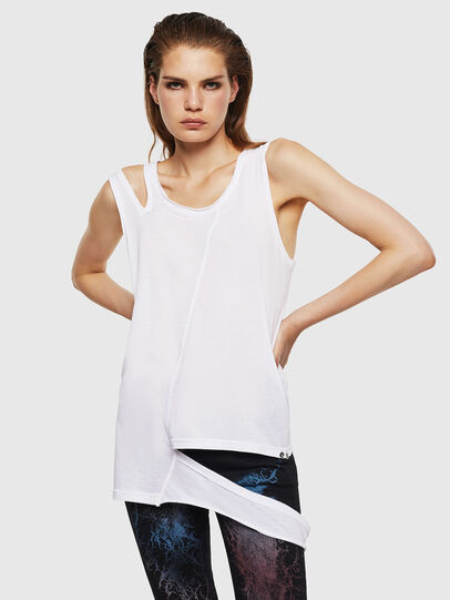 Diesel - T-TABBY-A, White - Tops - Image 1