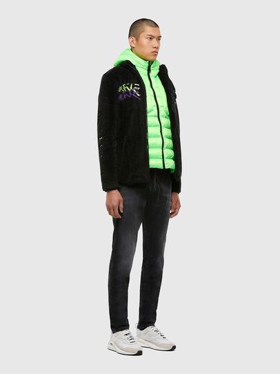 Diesel - KROOLEY JoggJeans® 009KD, Black/Dark grey - Jeans - Image 5