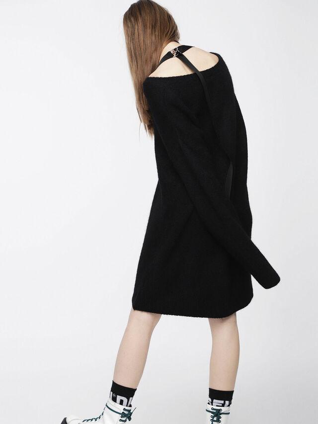 Diesel - M-SOFTY, Black - Dresses - Image 5