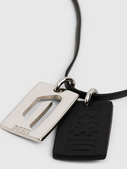 Diesel - N-DIVISION, Silver/Black - Bijoux and Gadgets - Image 4