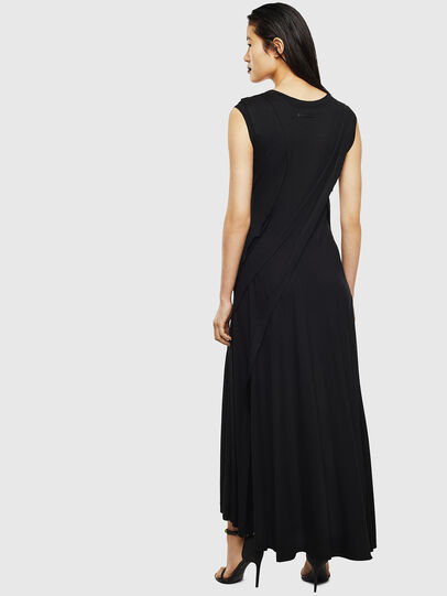 Diesel - D-AQUARZ, Black - Dresses - Image 2