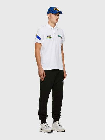 Diesel - ASTARS-T-NIGHT-NEW-B, White - Polos - Image 6